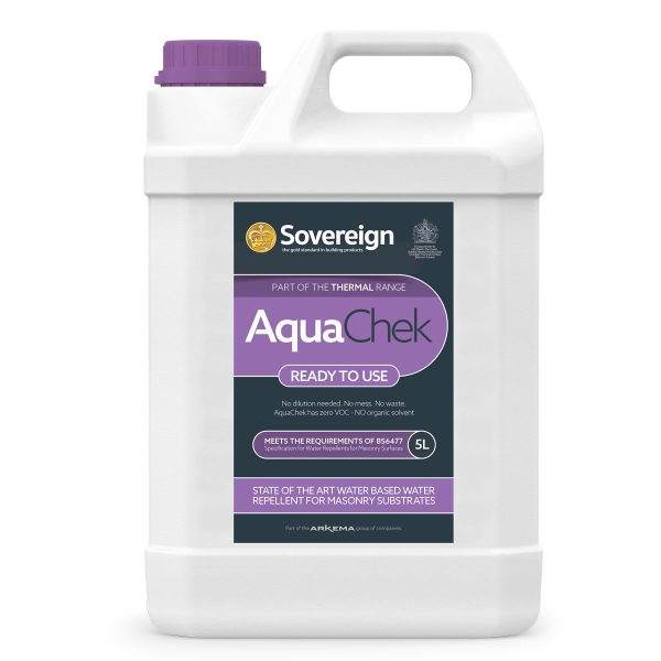 5 Litres AquaChek Water Repellent for Masonry