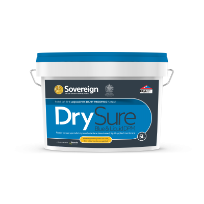 5 Litres DrySure Blue and Liquid Applied Damp Proof Membrane