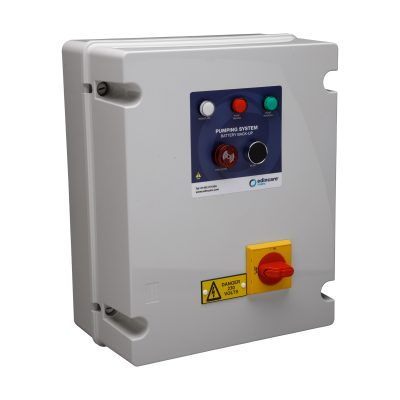 Battery Back Up Pump System for loss of power emergencies