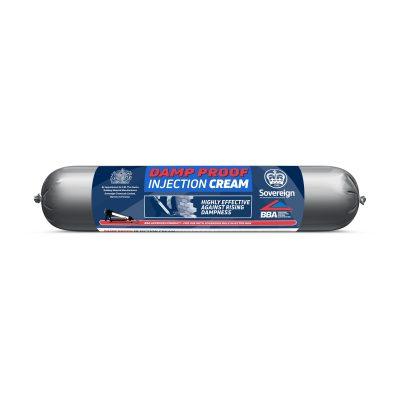 Damp Proof Course Injection Cream 600cc Foil Sausage