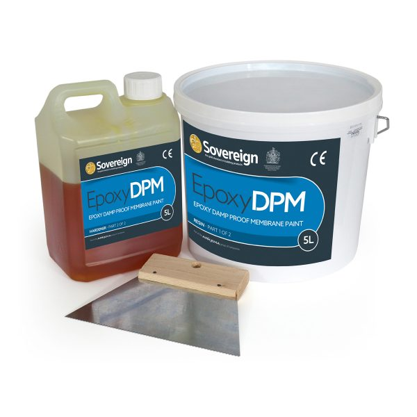 5L EpoxyDPM - Epoxy Damp Proof Membrane Paint