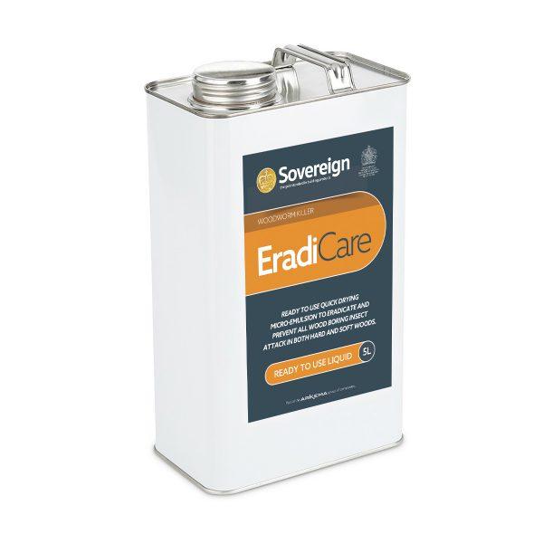 5 Litre EradiCare Woodworm Killer Treatment