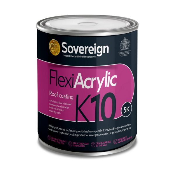 5L FlexiAcrylic K10 Roof Waterproof Coating
