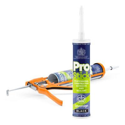 Prostick Adhesive and Sealant Cartridge and Gun