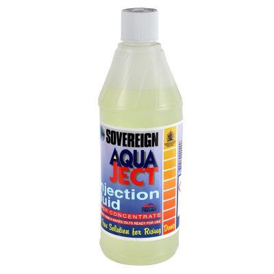 Aqua-Ject injection fluid bottle