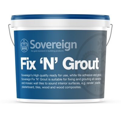 Fix N Grout White Tile Adhesive