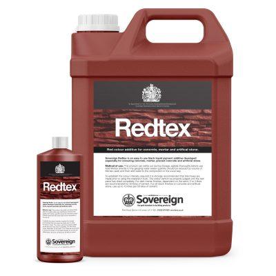 Redtex Red liquid pigment dispersion cement colourant