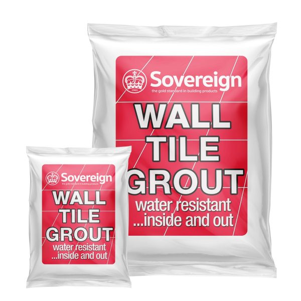 Wall Tile Grout Range